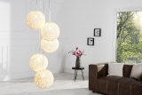 Lampa COCOON NATUR WHITE SET