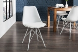 Židle SCENER CHAIR RETRO WHITE
