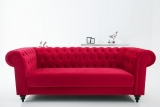 Sedačka CHESTERFIELD SAMET RED