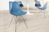 Židle SCENER CHAIR RETRO BLUE