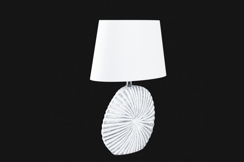Stolní lampa SHINE-ALU WHITE SMALL