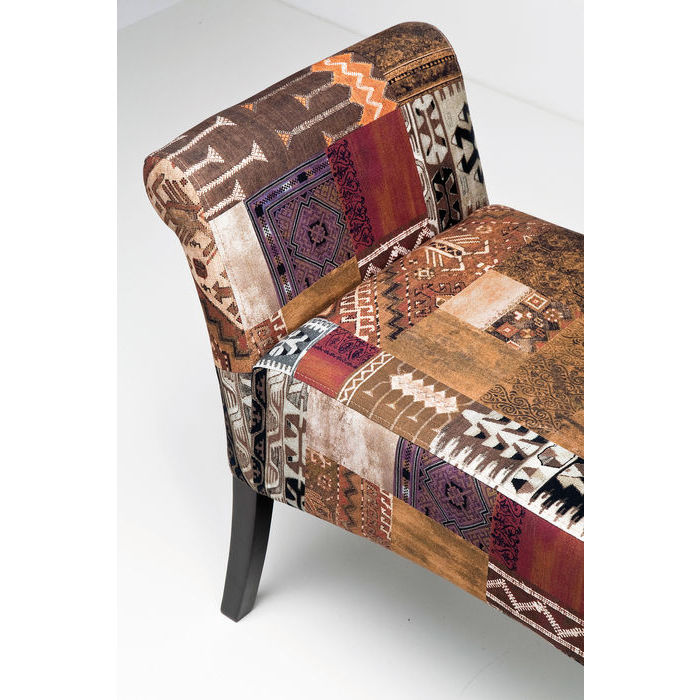 Lavice PATCHWORK MOTLEY BROWN
