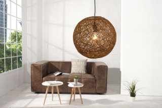 Lampa COCOON NATUR BROWN 35