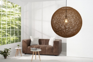 Lampa COCOON NATUR BROWN 60