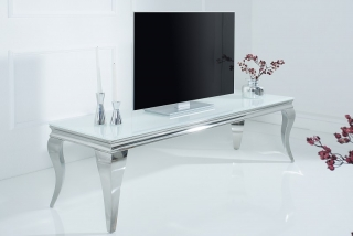 TV stolek BAROCK MODEL WHITE 160