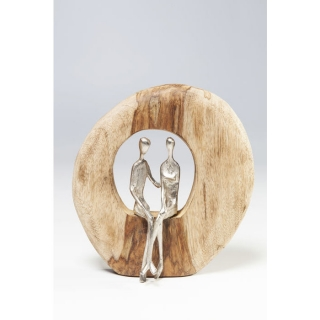 Dekorace COUPLE IN WOOD