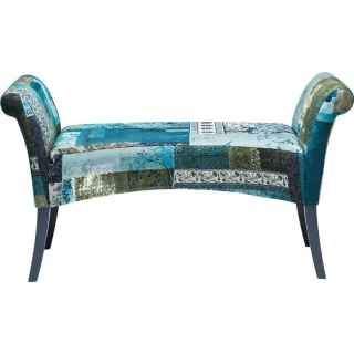 Lavice PATCHWORK MOTLEY BLUE