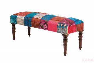 Lavice PATCHWORK VELVET COLORE