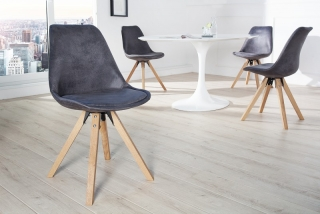 Židle SCENER CHAIR ANTIK GREY