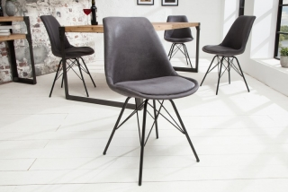 Židle SCENER CHAIR RETRO GRAY