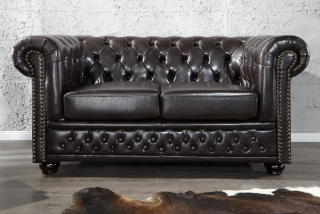 Sedačka CHESTERFIELD 2 BROWN
